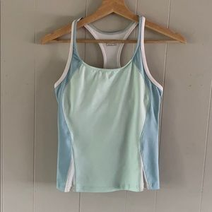 ASPIRE activewear colorblock racerback tank small